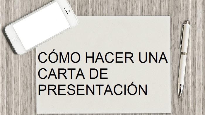 Cómo hacer una carta de presentación